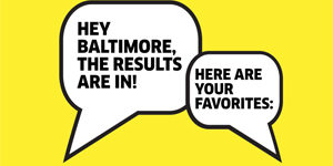 2017 Best of Baltimore Readers' Poll